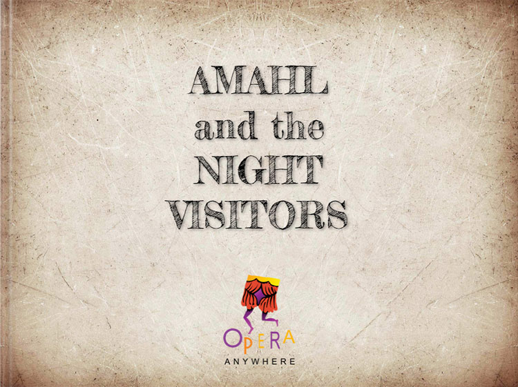 Amahl and the Night Visitors: digital storybook project